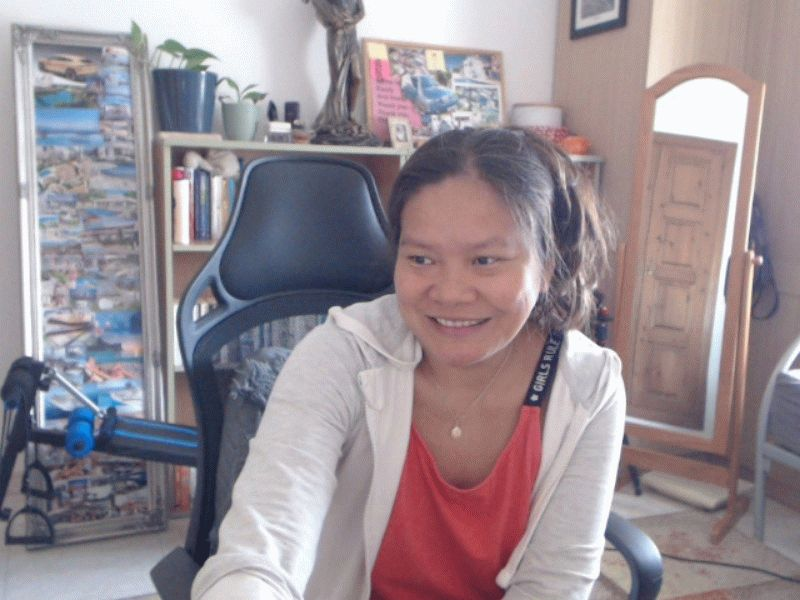 angel77x friendly and happy